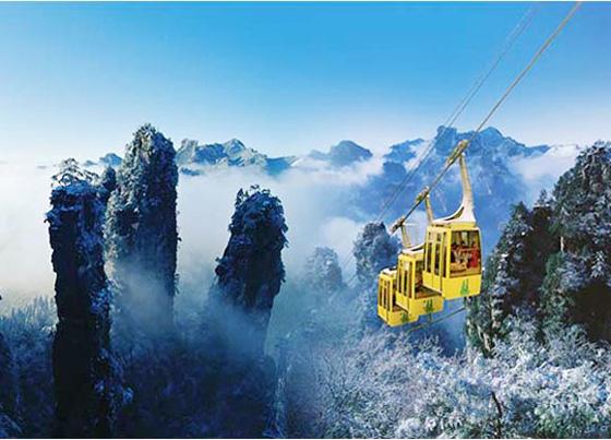 Wulingyuan Scenic Area, Zhangjiajie China